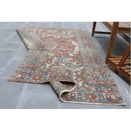 Vintage HandMade Turkmen Balisht Carpet  Size is in feet 4.2 x 2.8